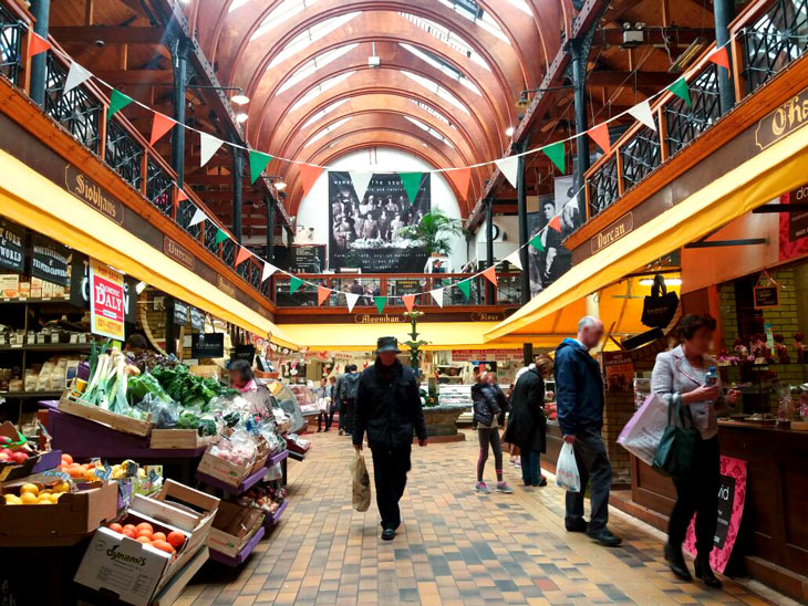English Market em Cork, Irlanda