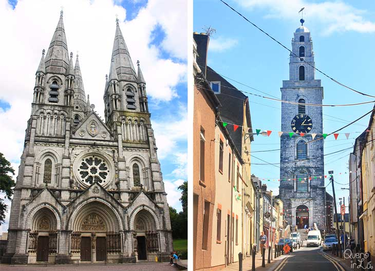 St Fin Barre's Cathedral e St Anne's Church (Shandon Bells) em Cork, Irlanda