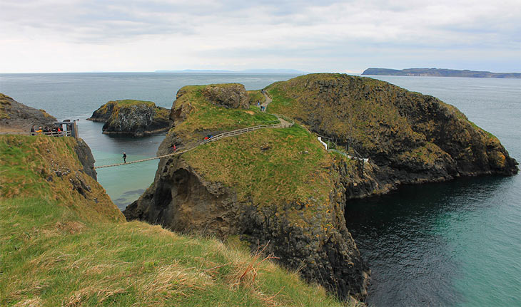 Roteiro Irlanda do Norte, Carrick-a-rede bridge