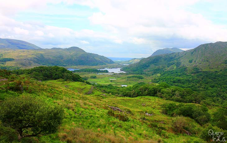 Ladie's View, mirante no Killarney National Park, Irlanda