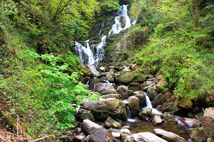 Torc Waterfall no Killarney National Park, Irlanda
